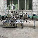 To sider automatisk mærkatmaskine med servomotor
