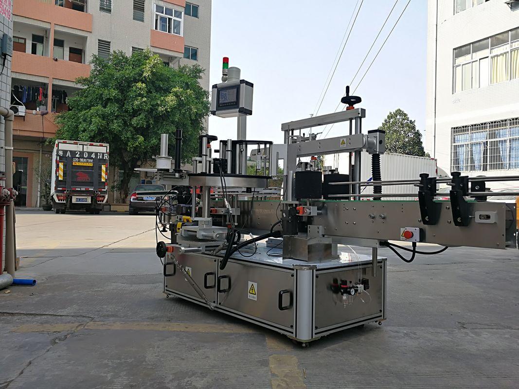 Højhastigheds automatisk trekantet flaskeetikettapplikatormaskine