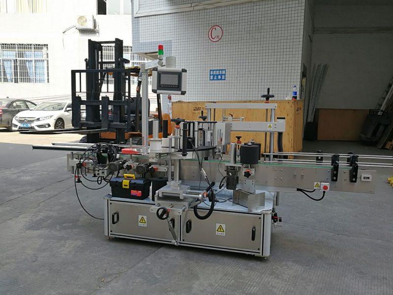 Kina CE automatisk mærkatmærkningsmaskine til forsegling af små kartonhjørner