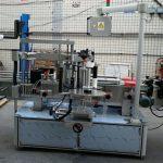Dobbeltsidet klistermærke Elliptisk oval flaske automatisk etiketteringsmaskine
