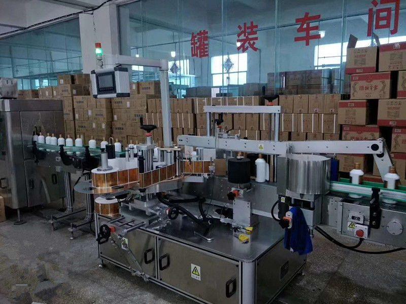 Kina Automatisk klæbende for / bag glasflaske mærkning maskine høj hastighed 5000 - 8000B / H leverandør