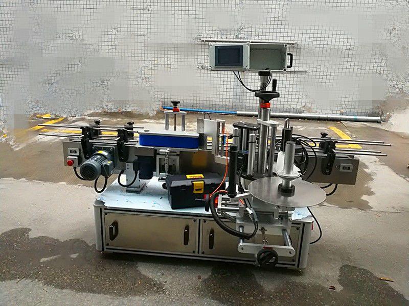 Kina Fuld automatisk rund flaske klistermærke maskine (bæltetype) leverandør