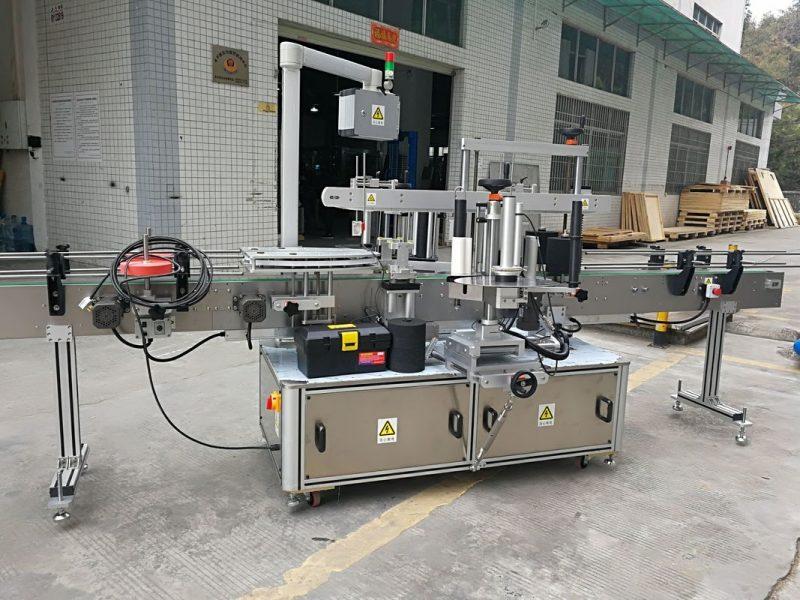 Kina Fuldautomatisk kartonhjørneforseglingsmærkatmærkningsmaskine 220V 50HZ 1200W leverandør